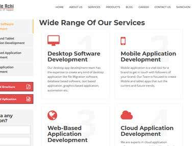 SEO Friendly responsive website