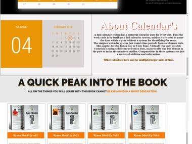 Rayana Calendar-Website