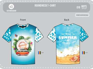 Clothing - Apparel - Screen/Sublimation/DTG Designing