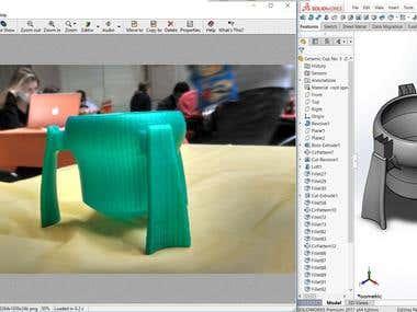 Product Designing - Kangaroo Cup