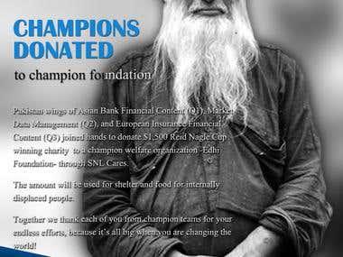 Edhi Foundation Donation