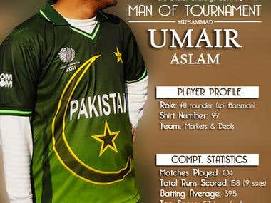 Man of Tournament