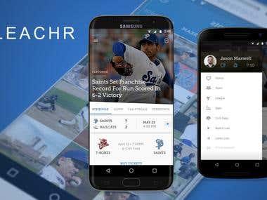 BLEACHR - Sports App