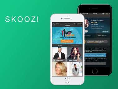 SKOOZI - Mcommerce & Video Streaming