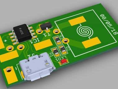 electric lighter PCB