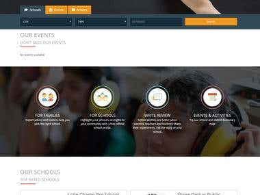 Website for Digitization in School for Parent and teacher.