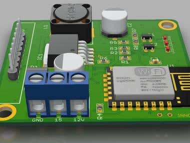IOT product PCB