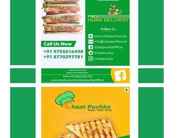 SANDWICH BOX PACKAGE DESIGNING
