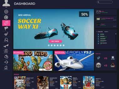 Fanstasy Game Dashboard