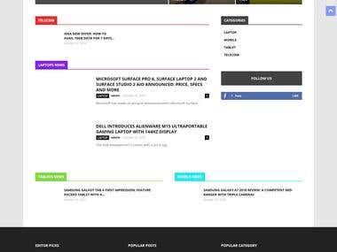 Web Design & Developement + Logo Designing