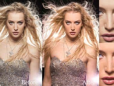 Studio photo - retouch