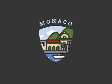 Monaco - Logo design