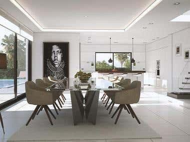 interior design of house