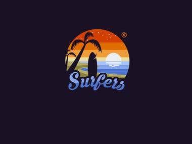 Surfer - Logo design