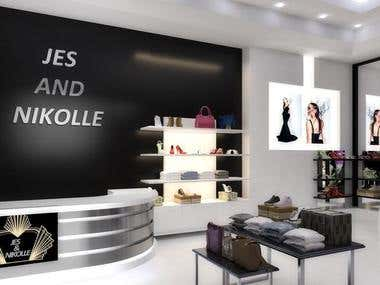 Shop interior project