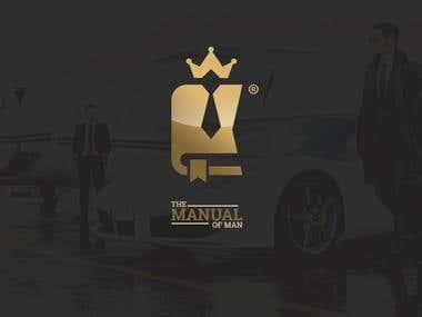 The manual of man - Logo design