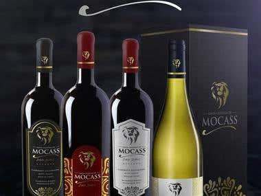 Santa Christina de Mocass - Logo / Labels / Packaging design