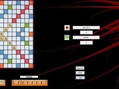 Scrabble in C++ MFC