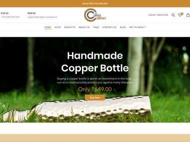 Copper Company E-Commerce Website