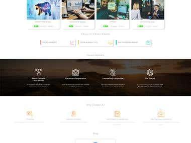 LMS / Rupees Education website