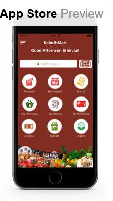 KC India Mart (iOS App)