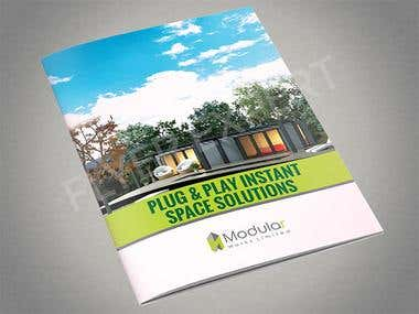 8 Page Brochure for a Real Estate Broker Business