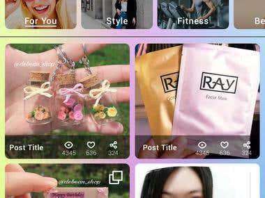 Social media app for business