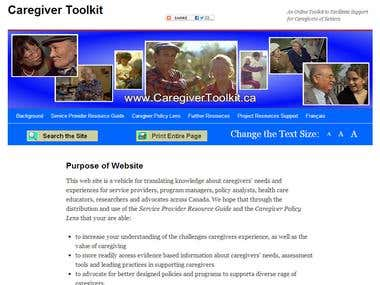 Caregiver Toolkit.ca