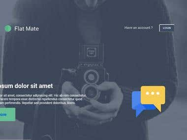 Flate Mate Website