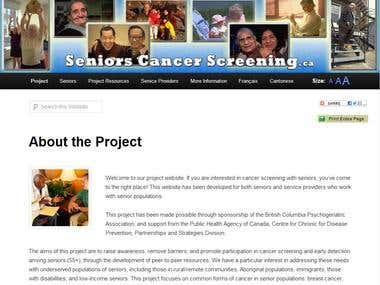Seniors Cancer Screening.ca