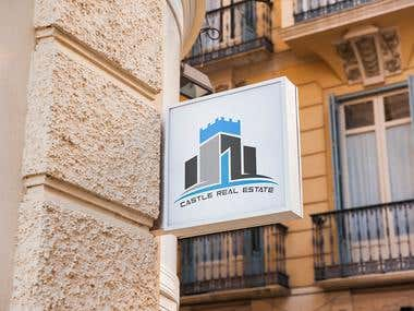 logo for castle real estate