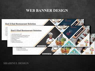 WEB BANNER DESIGN / BANNER