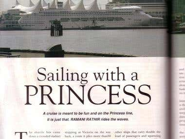 Sailing with a Princess