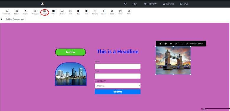 Visual Page Builder with Vue js | Freelancer