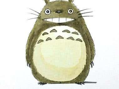 My Neighbor Totoro fanart