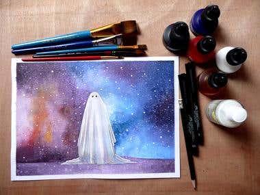 A Ghost Story fanart