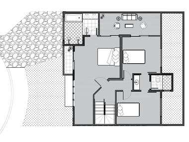 Minimalistic floor design