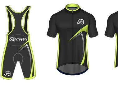 Design Cycling Bib-Shorts and Cycling Jerseys