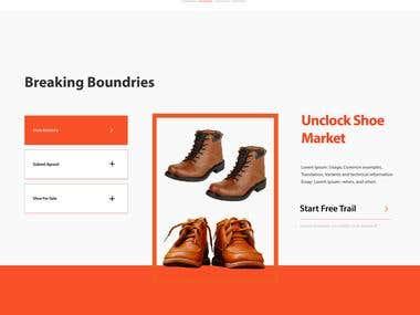 Shoe Web Layout