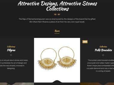 Drk Jewels Website