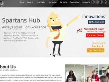 Spartanshub Website