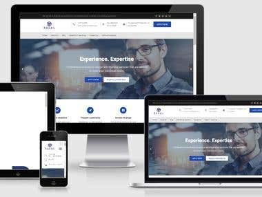 website for banking and finance