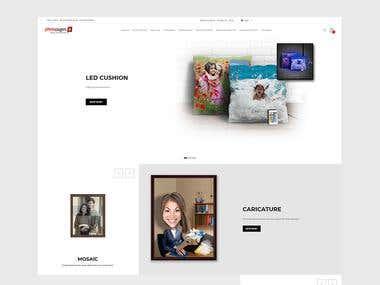 E-COMMERCE WEBSITE FOR ONLINE GIFT STORE