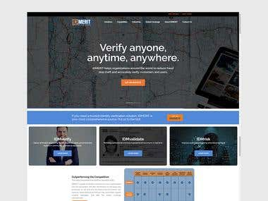 CORPORATE WEBSITE FOR ONE OF THE TOP IT COMPANY