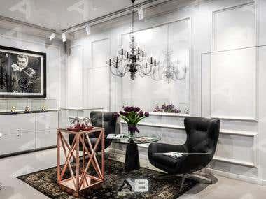 Interior Design in Scandinavian style for Speake - Marin.