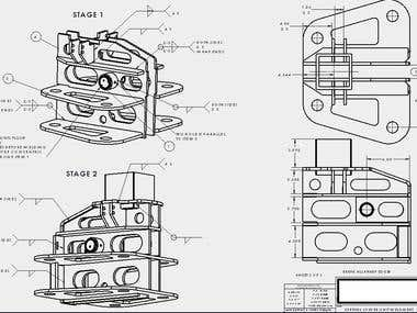 Weldment Drawing Example