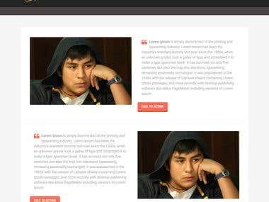 BramVergouwen a Wordpress Website