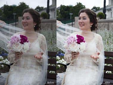 Wedding photos (My photo&retouch)