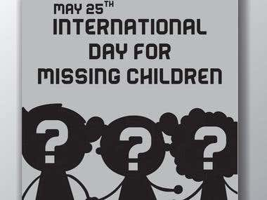 Missing Children day for the UN