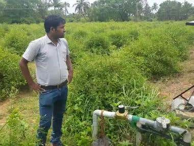 Fully automated drip irrigation
